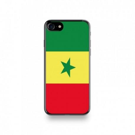 Coque Iphone X motif Drapeau Sénégal