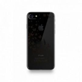 Coque Iphone X motif Nature Is Free Noir
