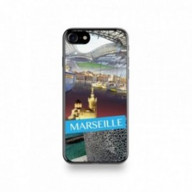 Coque Iphone X motif Vue de Marseille