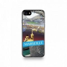 Coque Iphone X motif Vue de Marseille