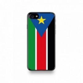 Coque Iphone X motif Drapeau Soudan Du Sud