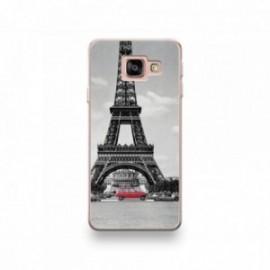 Coque Alcatel A3 XL motif 4L et la Tour Eiffel
