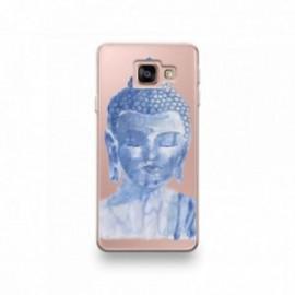 Coque Alcatel A3 XL motif Buddha Bleu