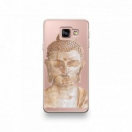 Coque Alcatel A3 XL motif Buddha Marron