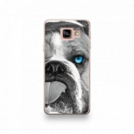 Coque Alcatel A3 XL motif Bulldog aux Yeux Bleus