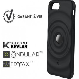 Coque iPhone 6 Plus / 6S Plus / 7 Plus / 8 Plus renforcée Force Case Ultimate noire