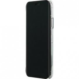 Etui iPhone X folio crystal noir de Bigben