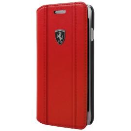 Etui iphone 6 plus / 6s plus / 7 plus / 8 plus Ferrari folio classic style red