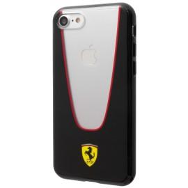 Coque iphone 7 Ferrari Aperta noire