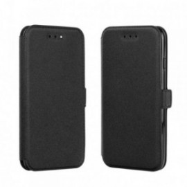Etui Iphone 5/5S/SE Folio Pocket noir
