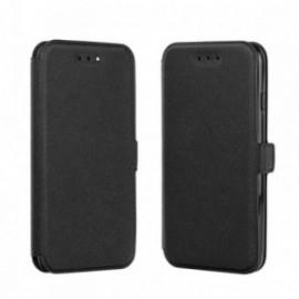 Etui LG K10 2017 Folio Pocket noir