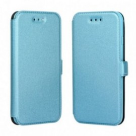 Etui Iphone 5/5S/SE Folio Pocket bleu