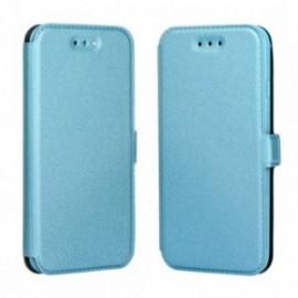 Etui LG K10 2017 Folio Pocket bleu