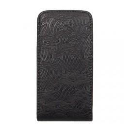 Etui iPhone 4/4s cuir flip style