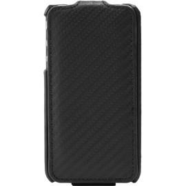 Etui iphone 4 et 4s aspect carbone noire