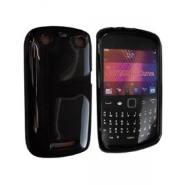 Coque Blackberry curve 9360 glossy noire