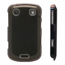 Coque Aluminium Blackberry bold 9900 brossée noire