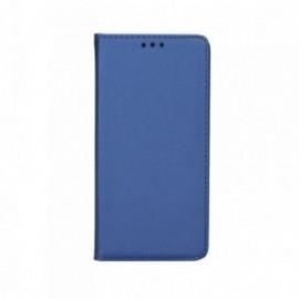 Etui LG Q6 folio bleu nuit