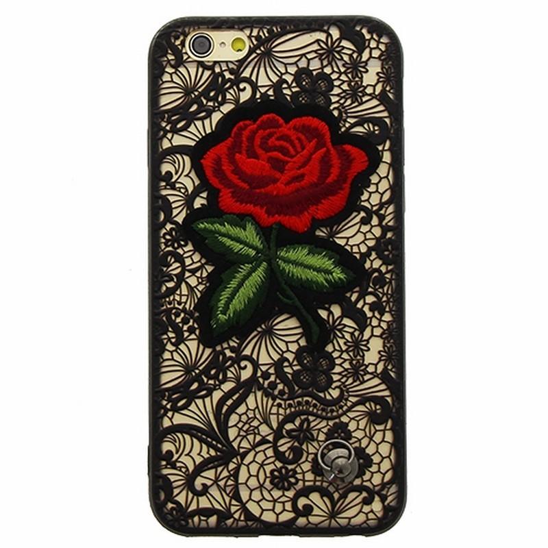 coque iphone 6 dentelle noire
