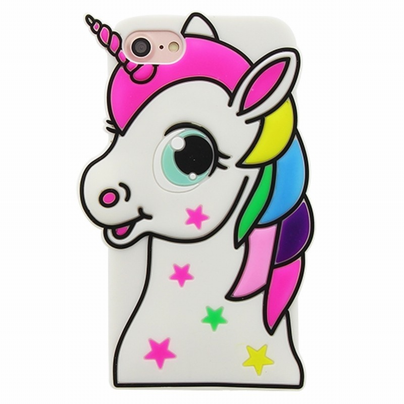 coque silicone iphone 7 licorne