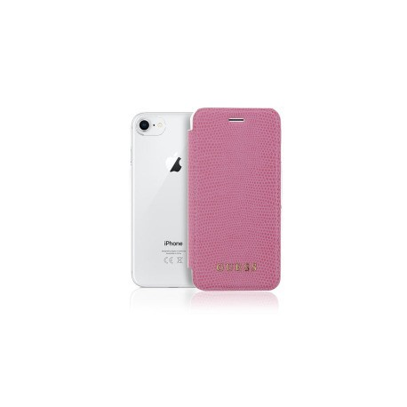 Etui iPhone 7 / iphone 8 folio Guess rose gold