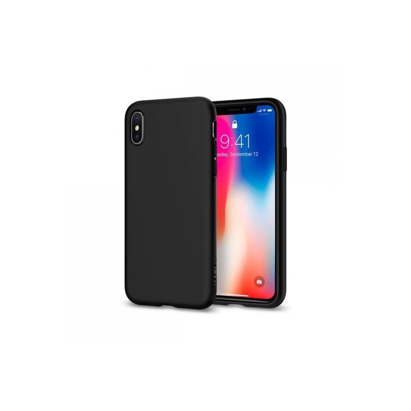 coque iphone x spigen noir