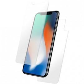Film iphone X en verre trempé avant et arrière de Bigben