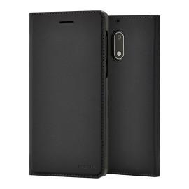 Etui Nokia 6 folio noir origine Nokia CP-301