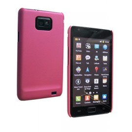 Coque Samsung galaxy s2 Casy rose