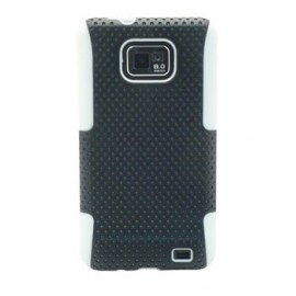 Coque Samsung galaxy s2 perforée noire