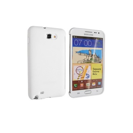 Coque galaxy note aluminium aspect cuir