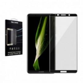 Verre trempé Huawei Mate 10 Pro contour noir