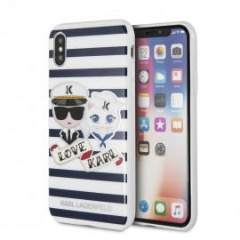 Coque iPhone X Karl lagerfeld Sailors