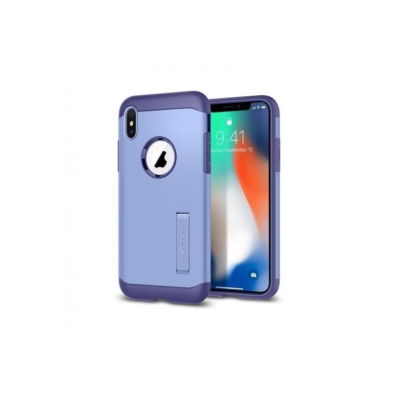 coque iphone x spigen bleu