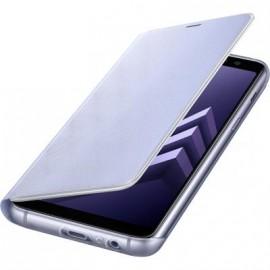 Etui Galaxy A8 A530 2018 samsung folio Neon EF-FA530PV Lavande d'origine Samsung
