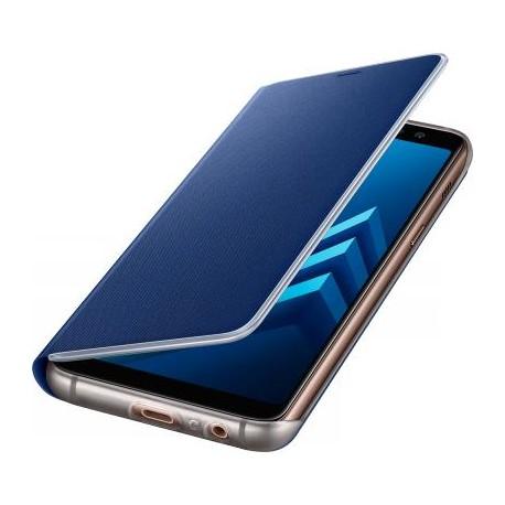 Etui Galaxy A8 A530 2018 samsung folio Neon EF-FA530PL Bleu d'origine Samsung