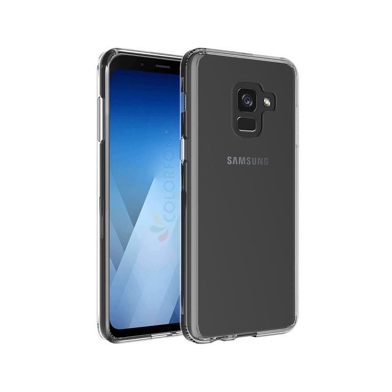 coque samsung galaxy a8 2018 silicone transparente destination telecom. Black Bedroom Furniture Sets. Home Design Ideas