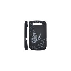 Coque Blackberry torch 9800 papillon noir