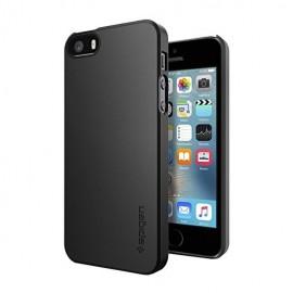 Coque iphone 5 / 5s / SE Spigen thin fit noire