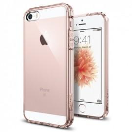 Coque iphone 5 / 5s / SE Spigen Ultra Hybrid rose