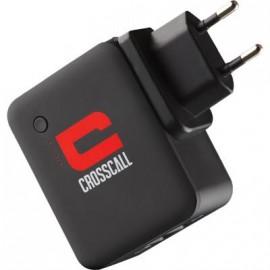 Chargeur secteur à réserve d'énergie Crosscall noir