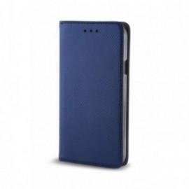 Etui Zte Blade A602 folio bleu