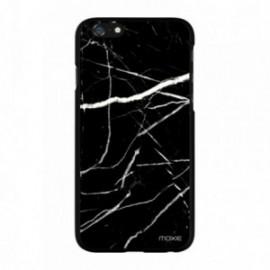 Coque Hisence C20 motif marbre noir
