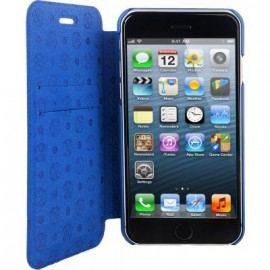 Etui iphone 6 / 6s folio Canvas CXL bleu de Christian Lacroix