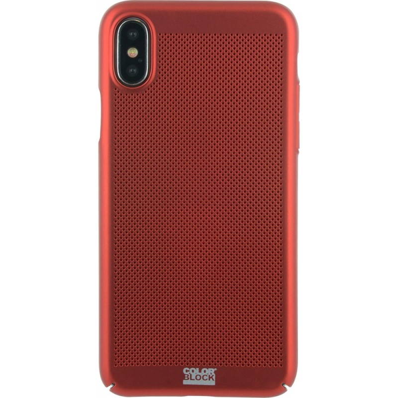 coque colorblock iphone x