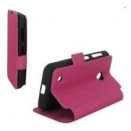 Etui Nokia Lumia 530 folio rose stand