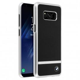 Coque Samsung Galaxy s8 g950 Bmw noir métallisé et alu