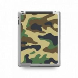 Coque IPAD 2/3/4 motif Camouflage Vert Kaki