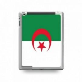Coque IPAD 2/3/4 motif Drapeau Algérie