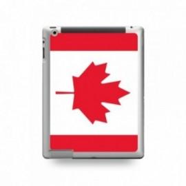 Coque IPAD 2/3/4 motif Drapeau Canada